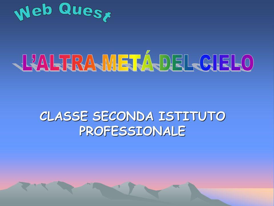 CLASSE SECONDA ISTITUTO PROFESSIONALE