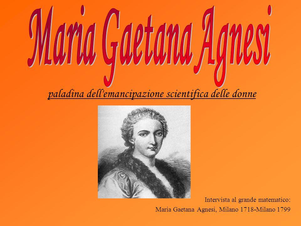 paladina dell emancipazione scientifica delle donne
