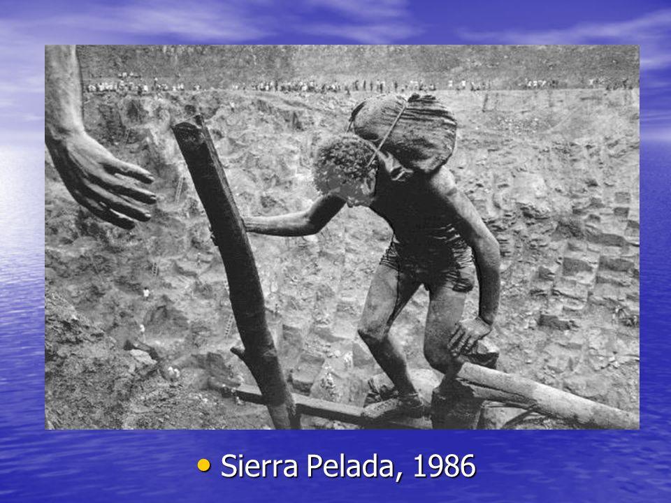 Sierra Pelada, 1986