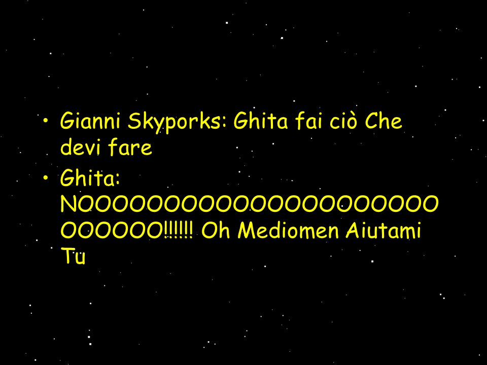 Gianni Skyporks: Ghita fai ciò Che devi fare