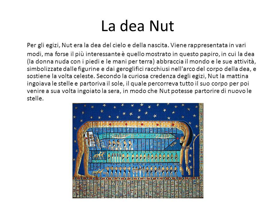 La dea Nut