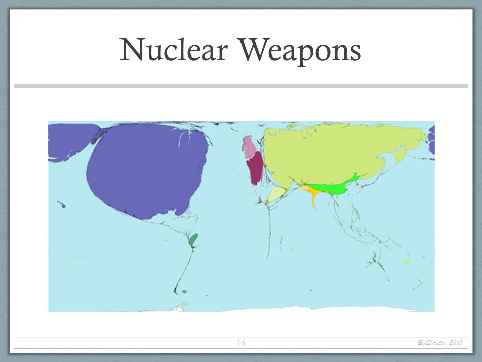 Nuclear Weapons BioDiritto, 2010