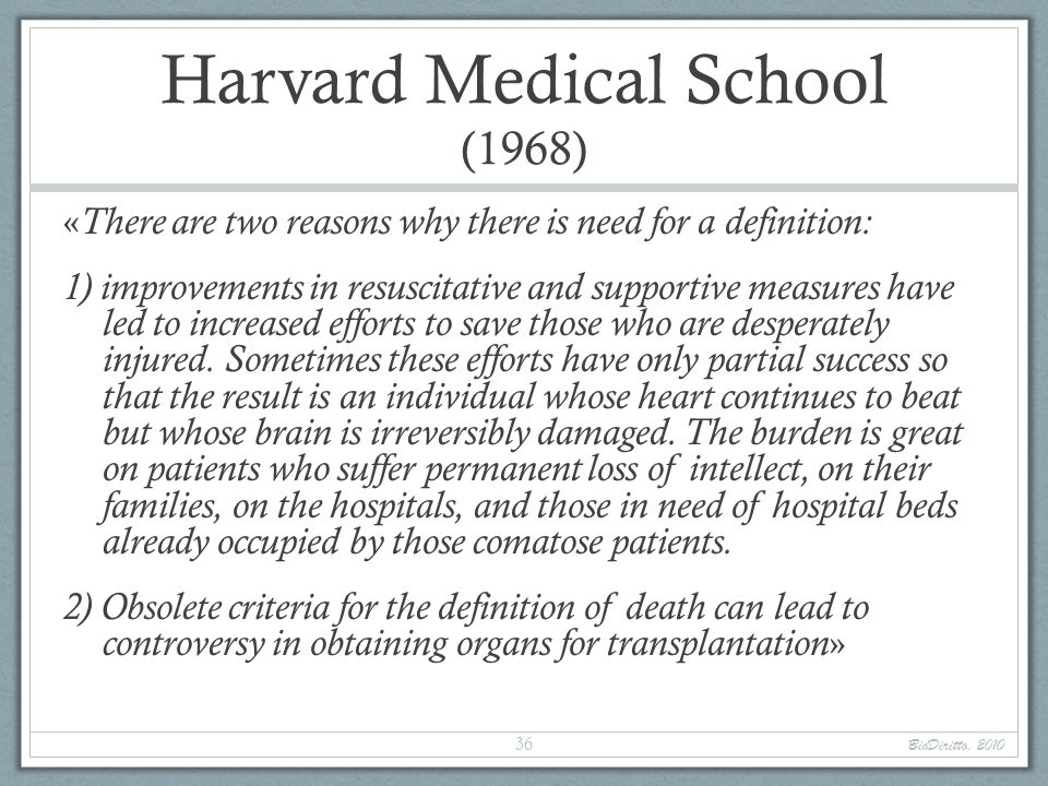 Harvard Medical School (1968)
