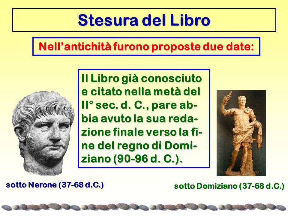 Nell'antichità furono proposte due date: