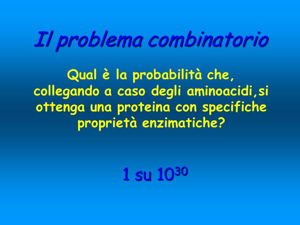 Il problema combinatorio
