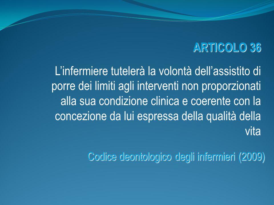 Codice deontologico degli infermieri (2009)