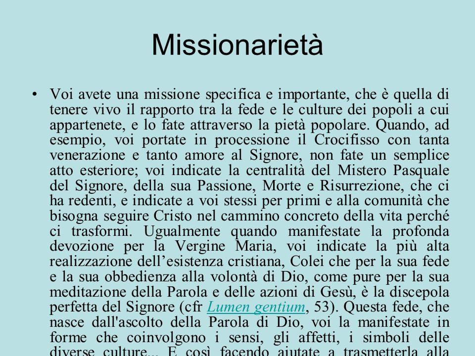Missionarietà
