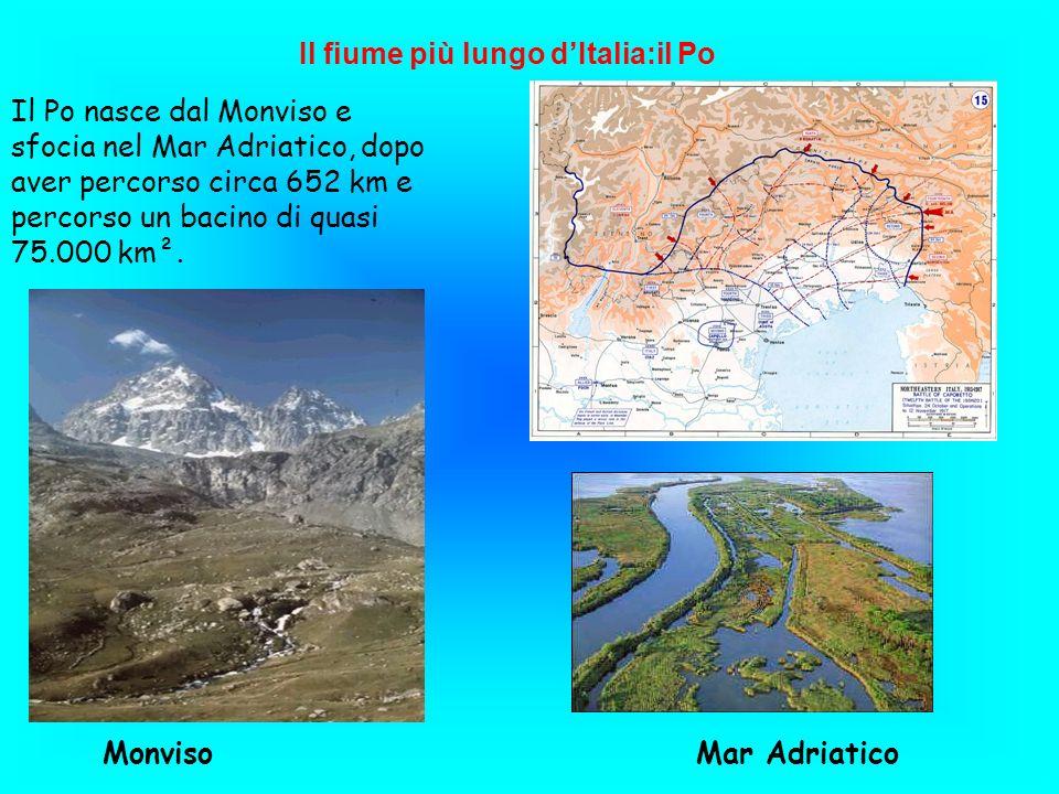 Il fiume più lungo d'Italia:il Po