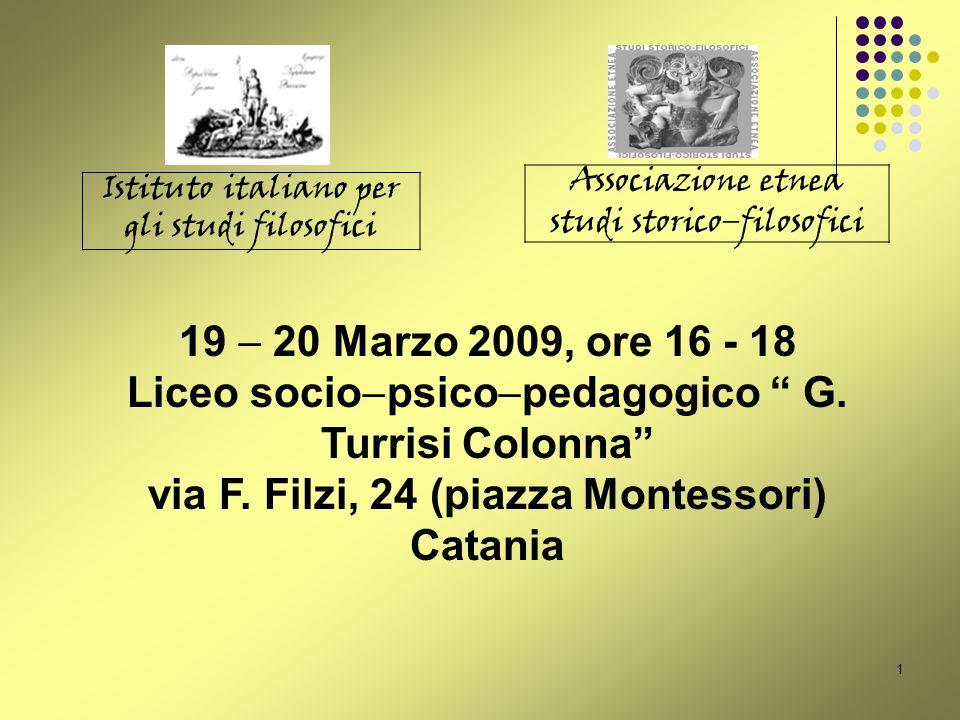 Liceo sociopsicopedagogico G. Turrisi Colonna