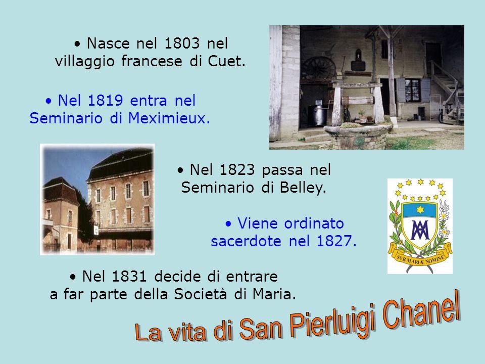 Nasce nel 1803 nel villaggio francese di Cuet.