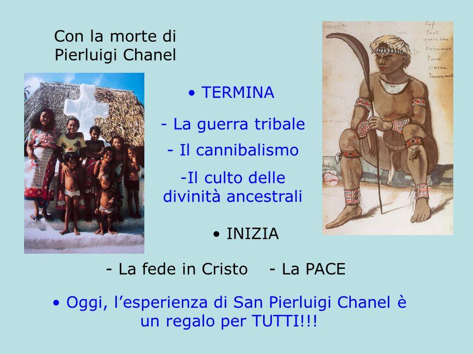 Oggi, l'esperienza di San Pierluigi Chanel è un regalo per TUTTI!!!