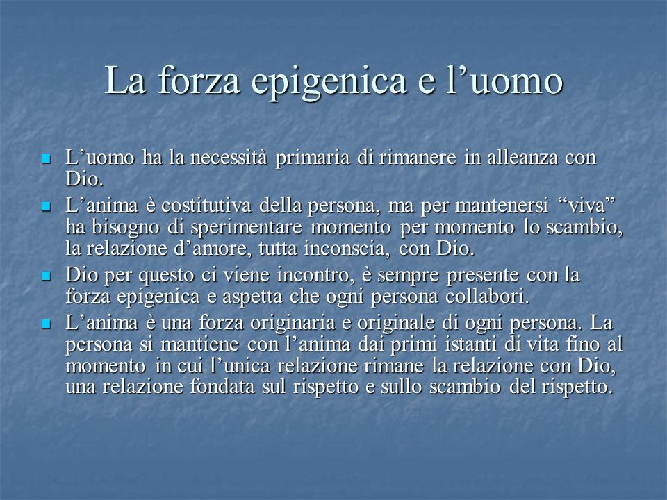 La forza epigenica e l'uomo