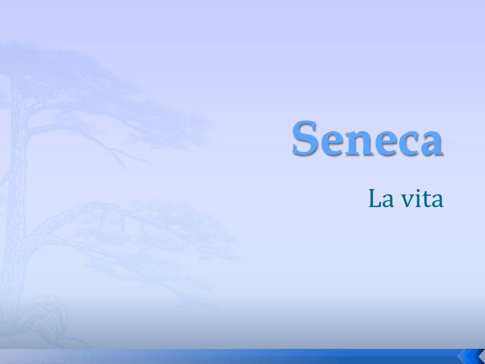Seneca La vita