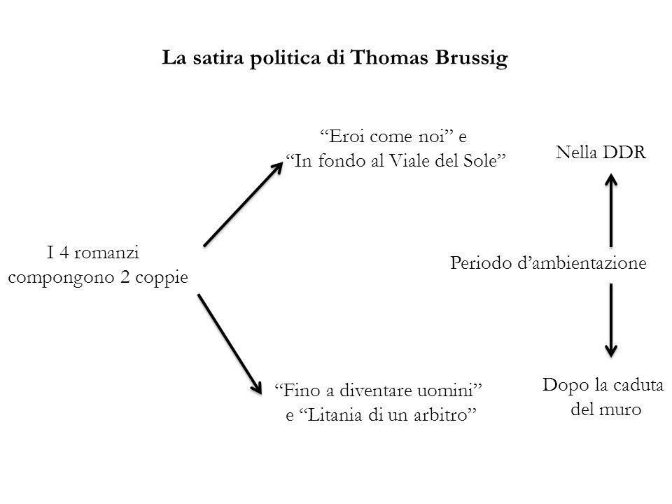 La satira politica di Thomas Brussig