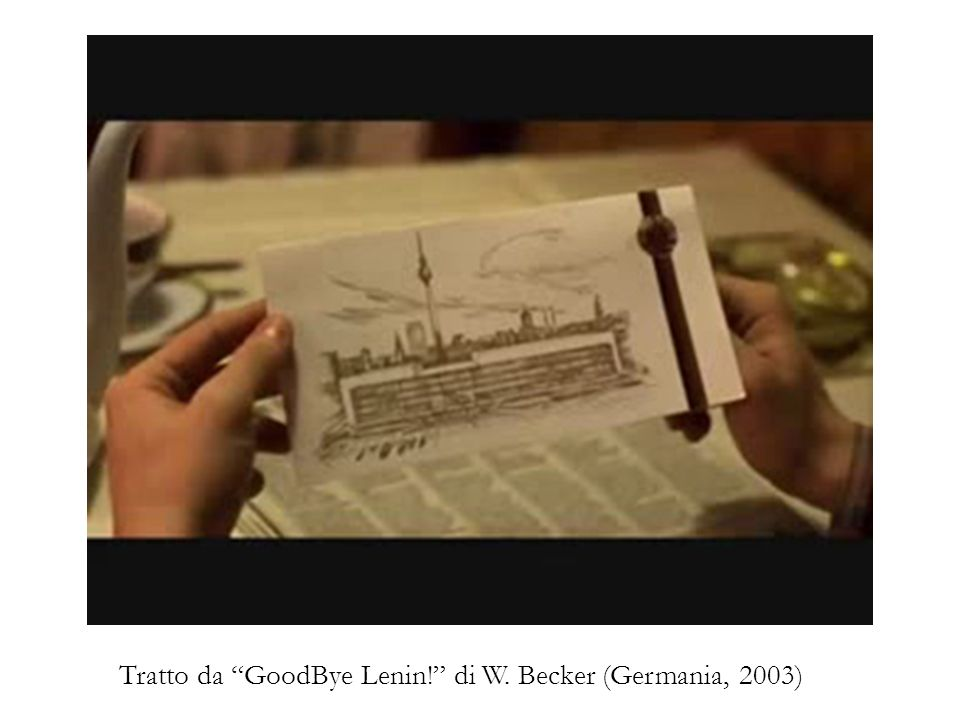 Tratto da GoodBye Lenin! di W. Becker (Germania, 2003)
