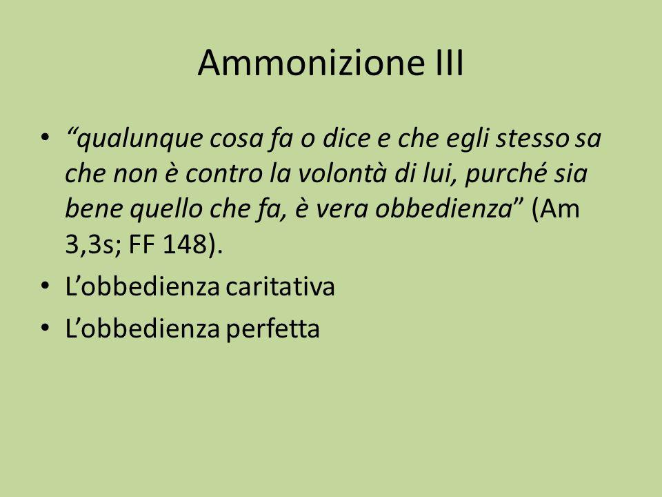 Ammonizione III