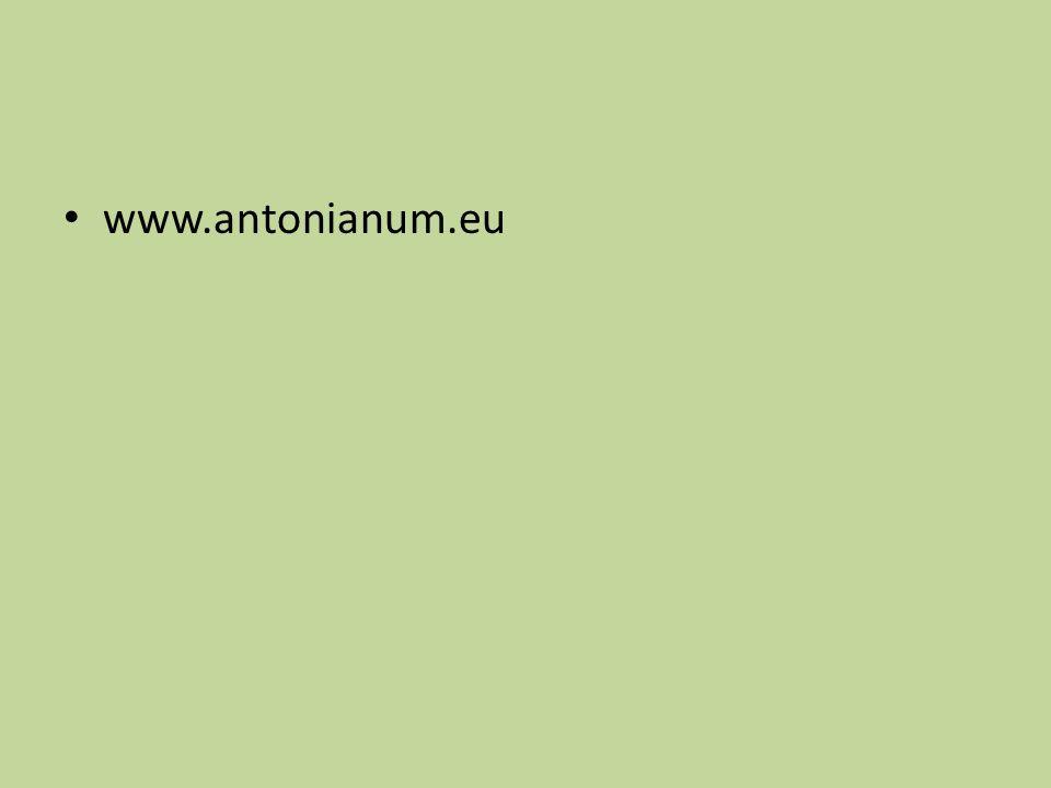 www.antonianum.eu