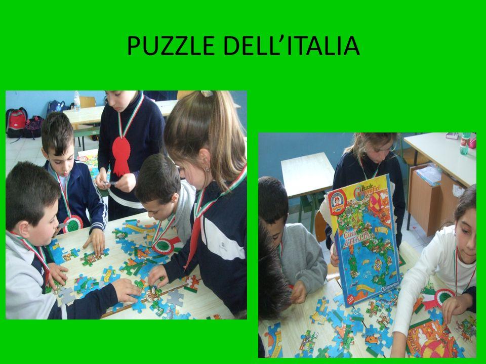 PUZZLE DELL'ITALIA