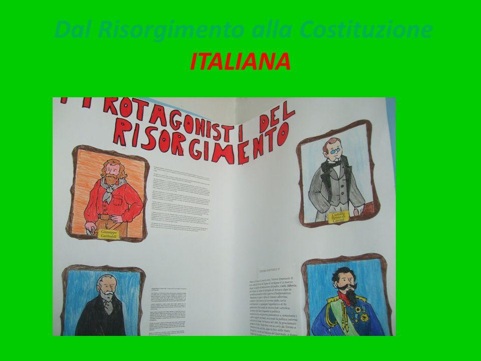 Dal Risorgimento alla Costituzione ITALIANA