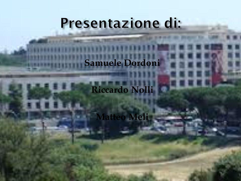 Samuele Dordoni Riccardo Nolli Matteo Meli