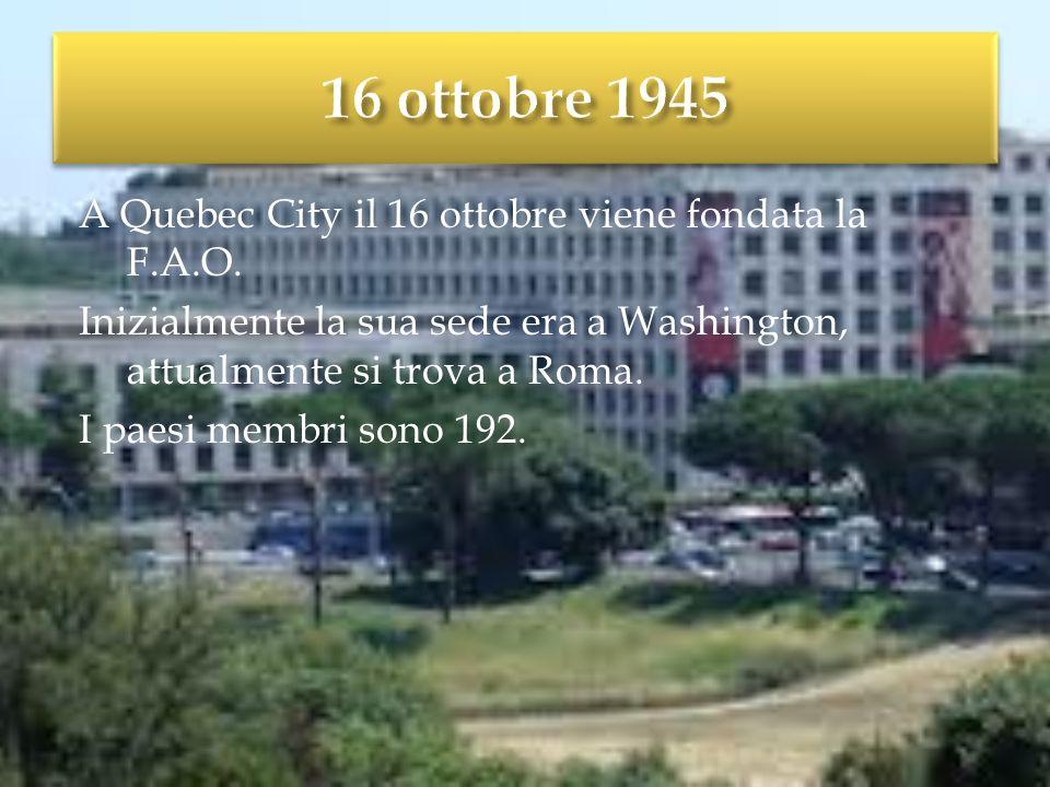 16 ottobre 1945