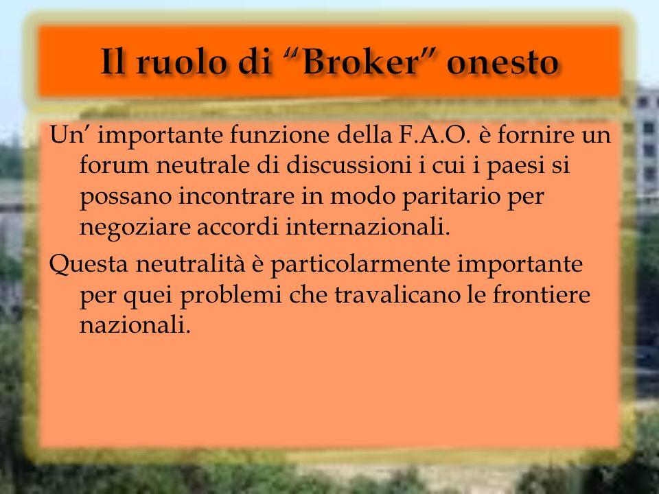 Il ruolo di Broker onesto