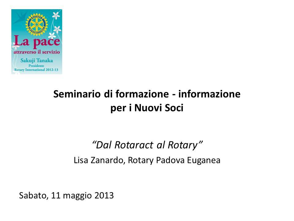 Seminario di formazione - informazione
