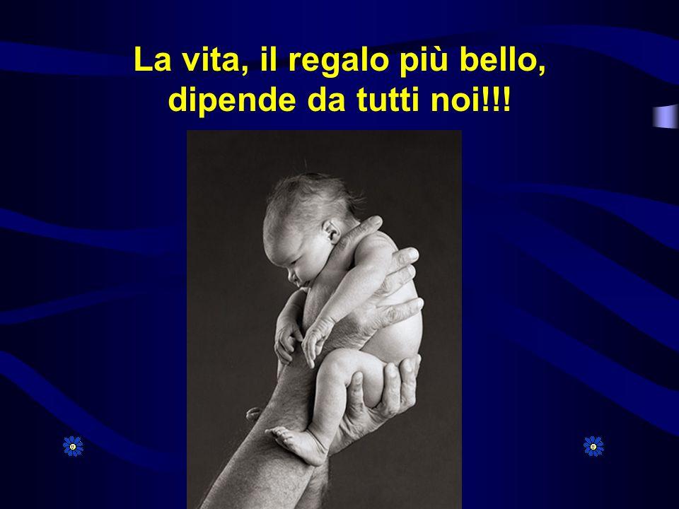 La vita, il regalo più bello, dipende da tutti noi!!!