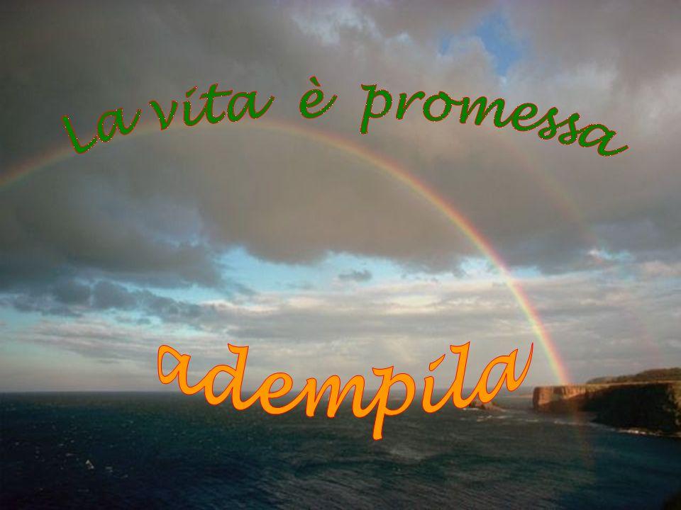 La vita è promessa adempila