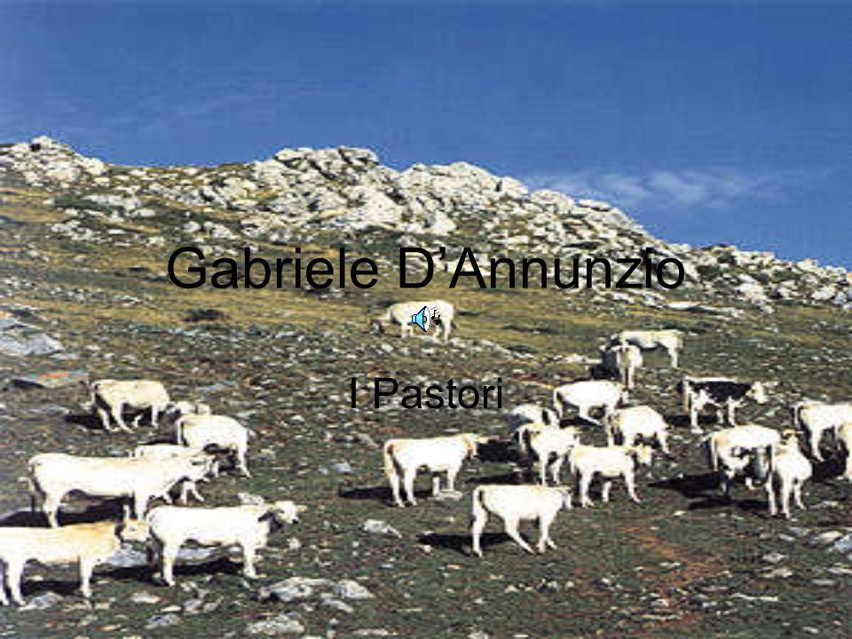 Gabriele D'Annunzio I Pastori