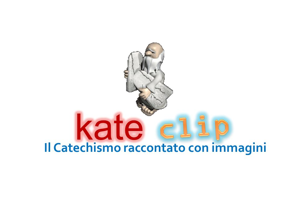 Il Catechismo raccontato con immagini