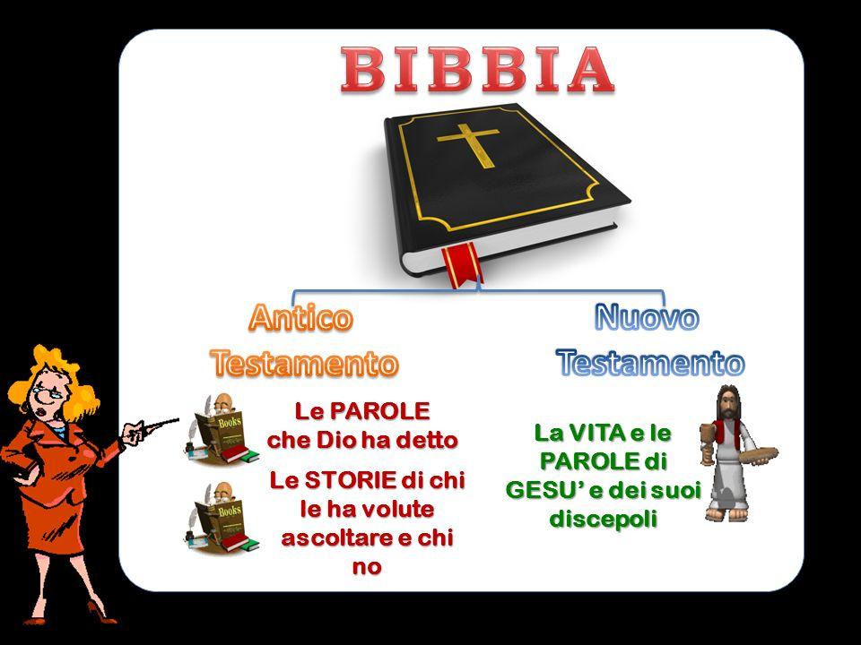 BIBBIA Antico Testamento Nuovo Le PAROLE che Dio ha detto