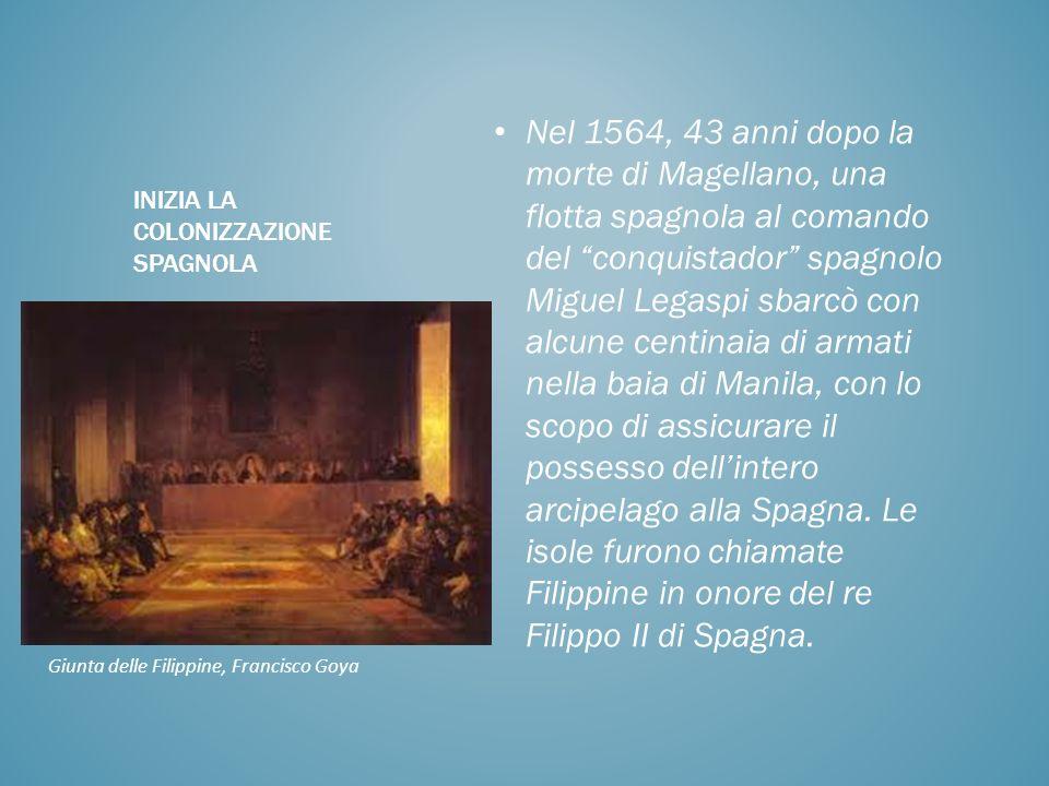 Inizia la colonizzazione spagnola