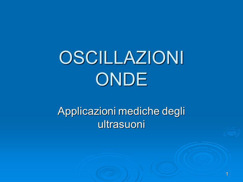 Applicazioni mediche degli ultrasuoni