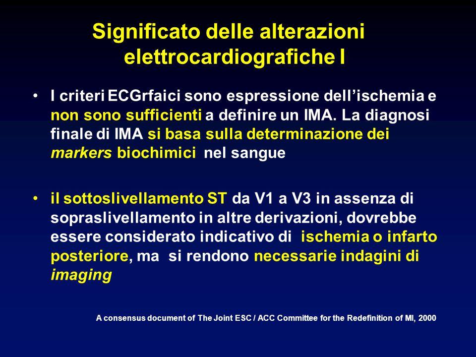 Significato delle alterazioni elettrocardiografiche I