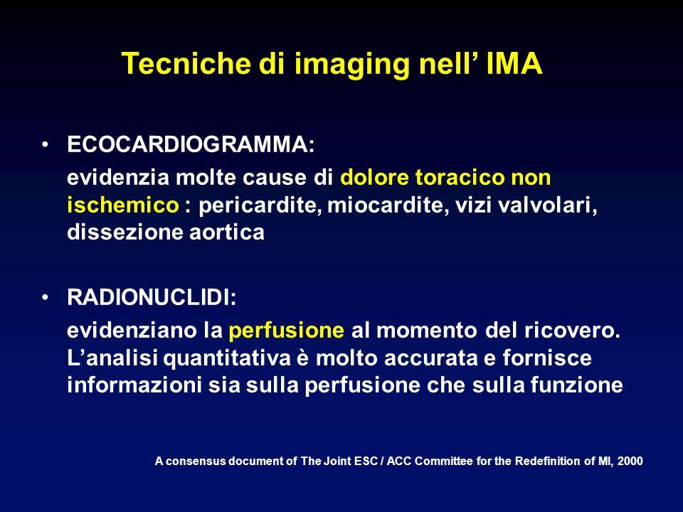Tecniche di imaging nell' IMA