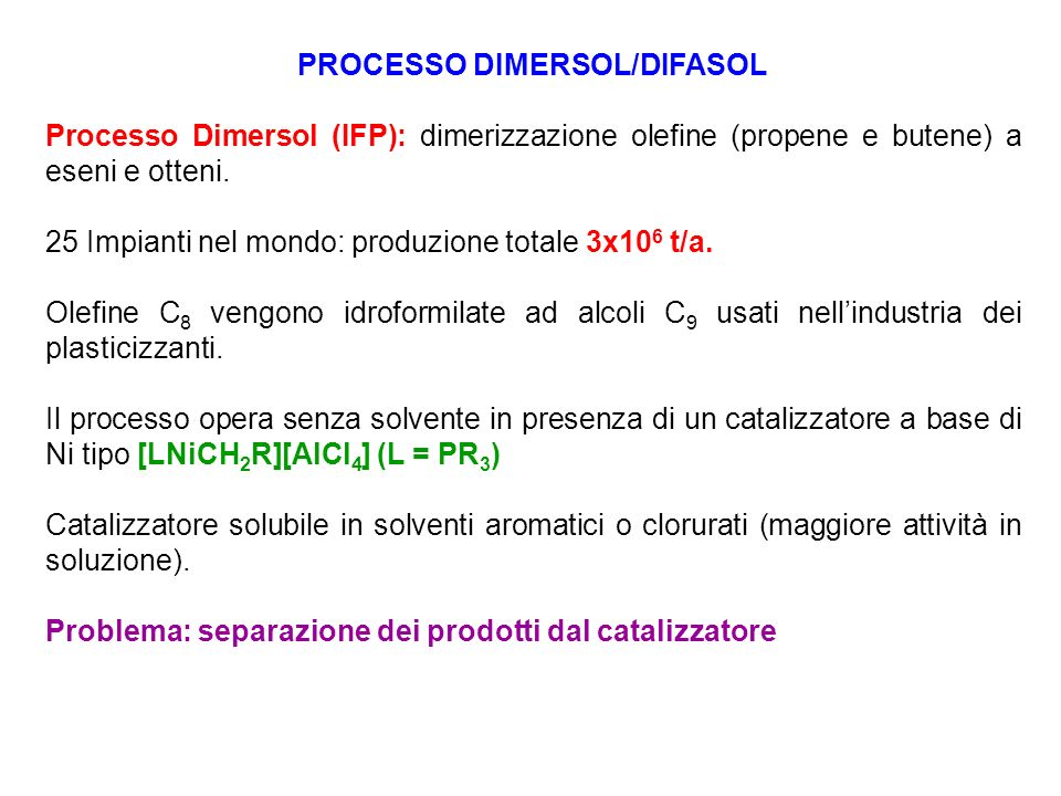 PROCESSO DIMERSOL/DIFASOL