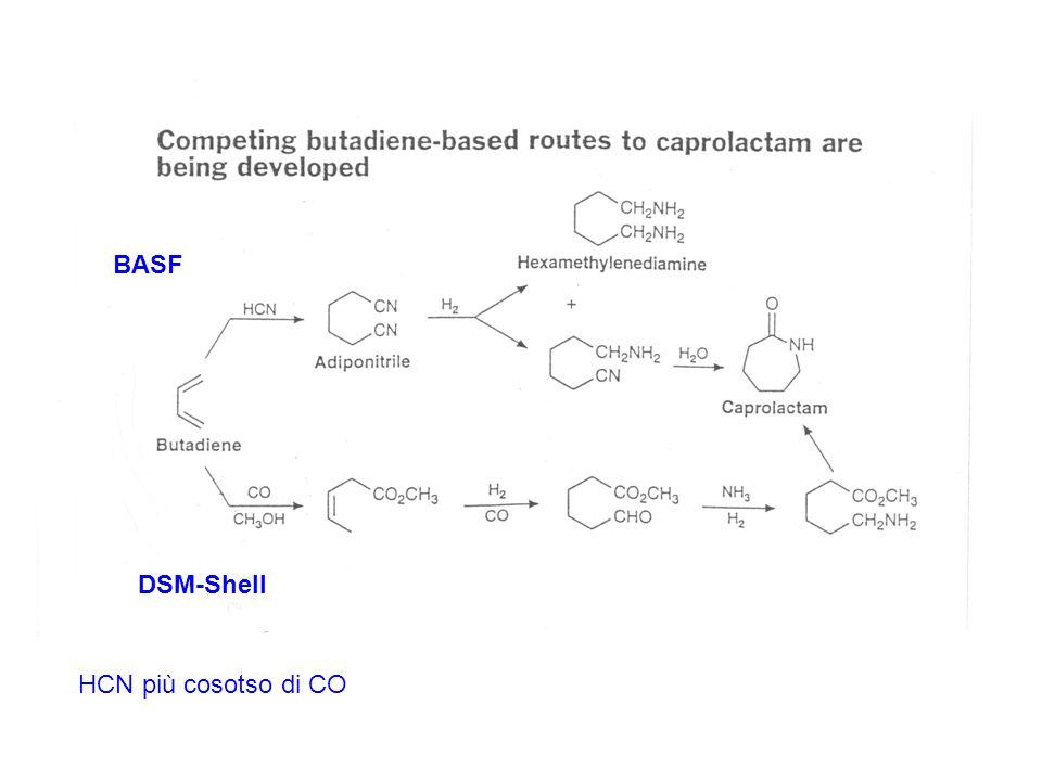 BASF DSM-Shell HCN più cosotso di CO