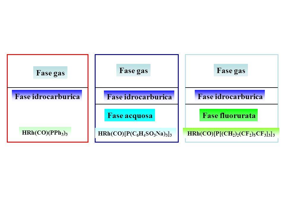 Fase gas Fase gas Fase gas Fase idrocarburica Fase idrocarburica