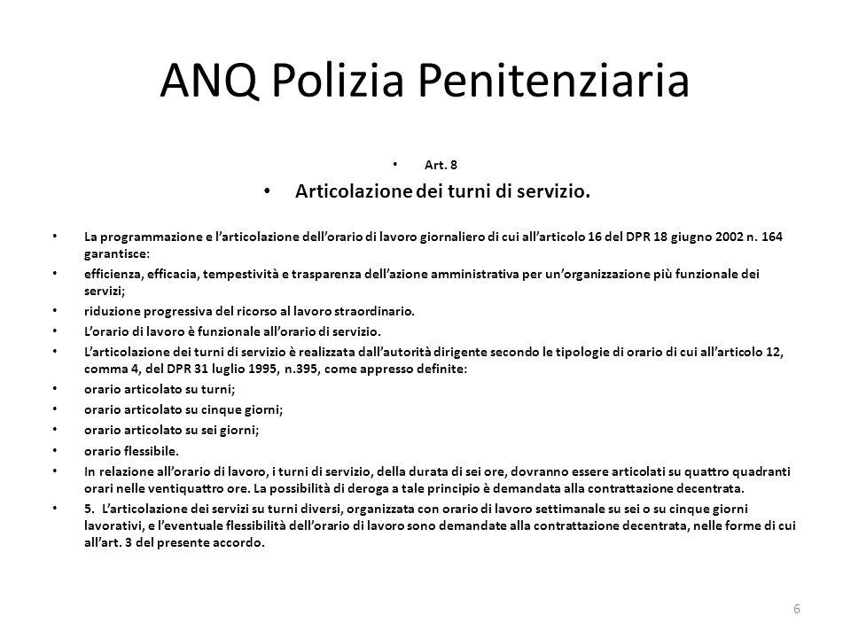 ANQ Polizia Penitenziaria