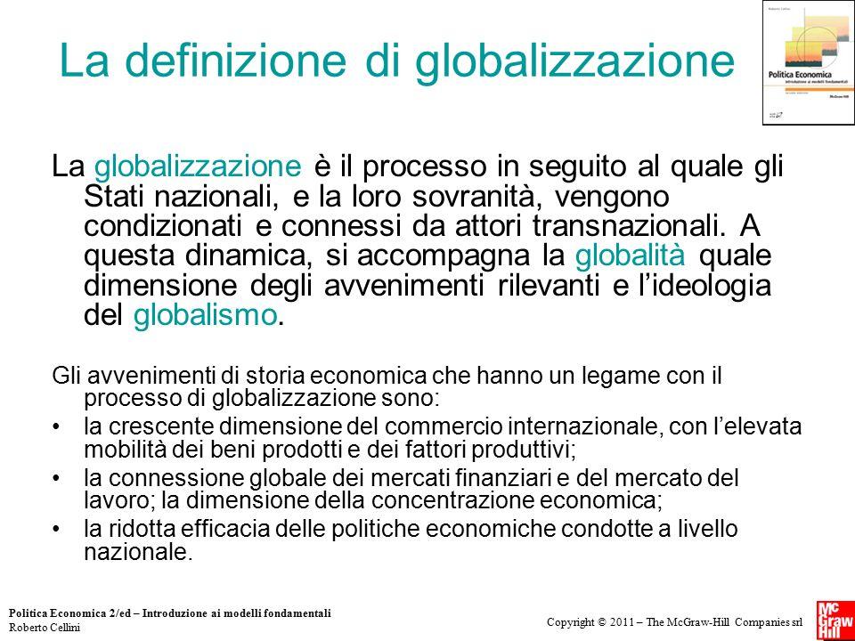 La definizione di globalizzazione