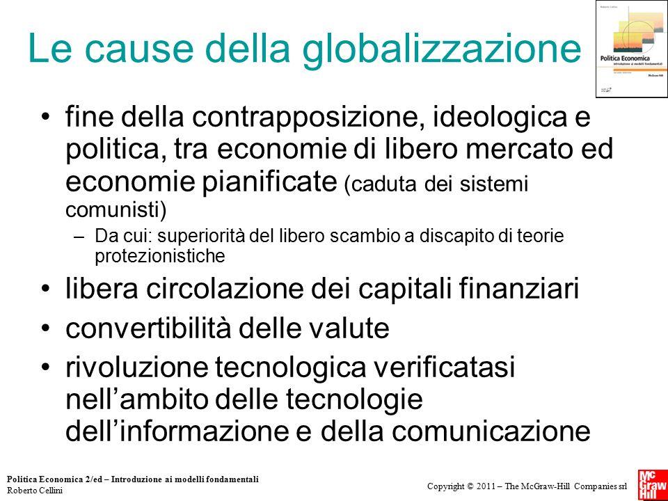 Le cause della globalizzazione