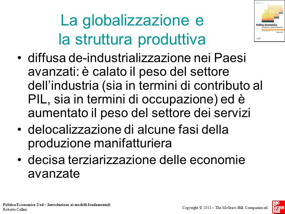 La globalizzazione e la struttura produttiva