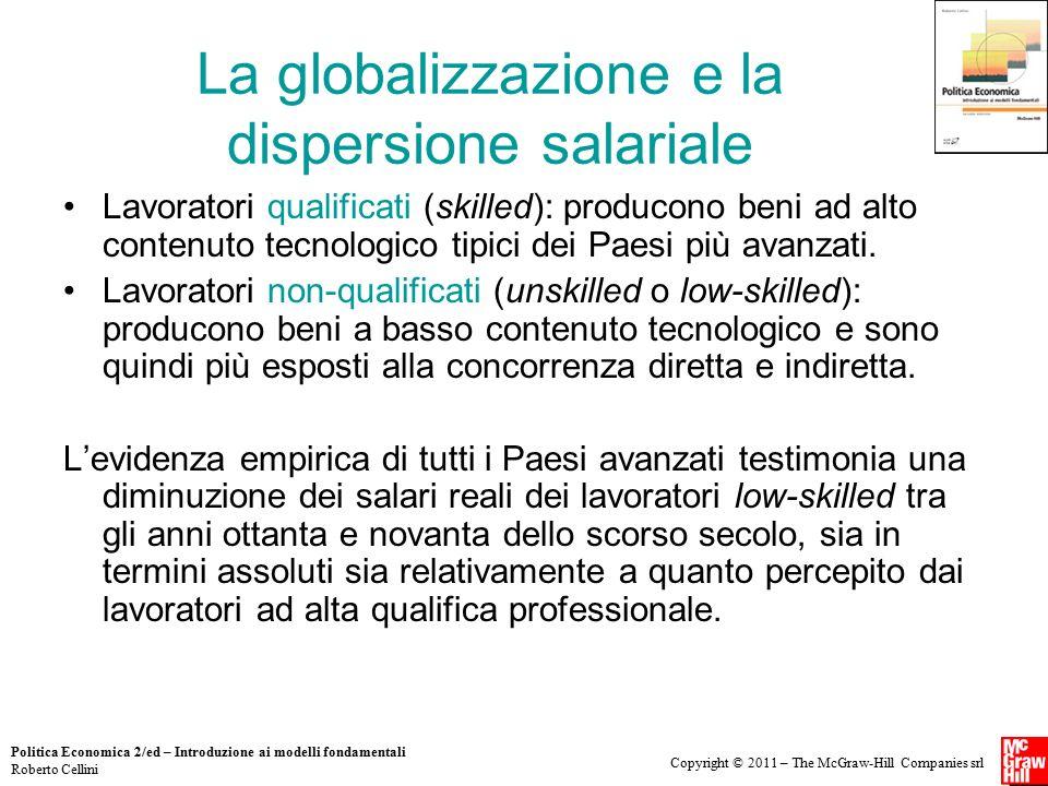 La globalizzazione e la dispersione salariale