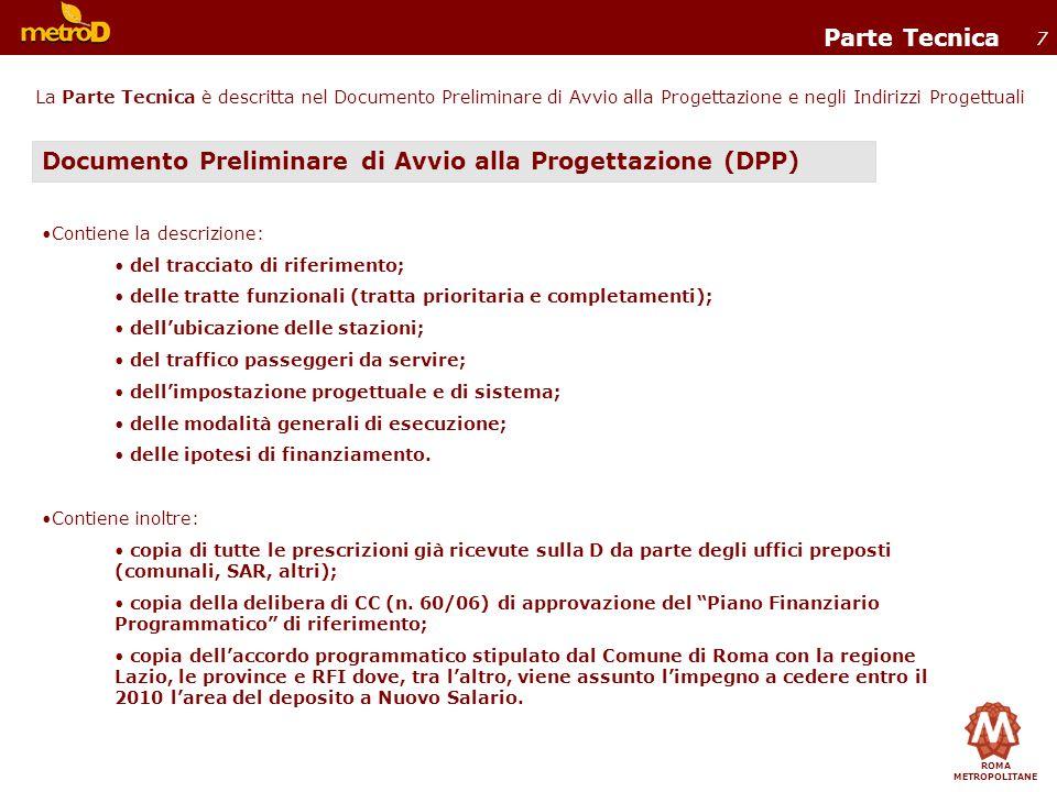 Documento Preliminare di Avvio alla Progettazione (DPP)
