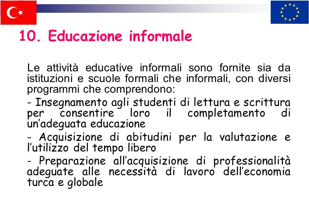10. Educazione informale
