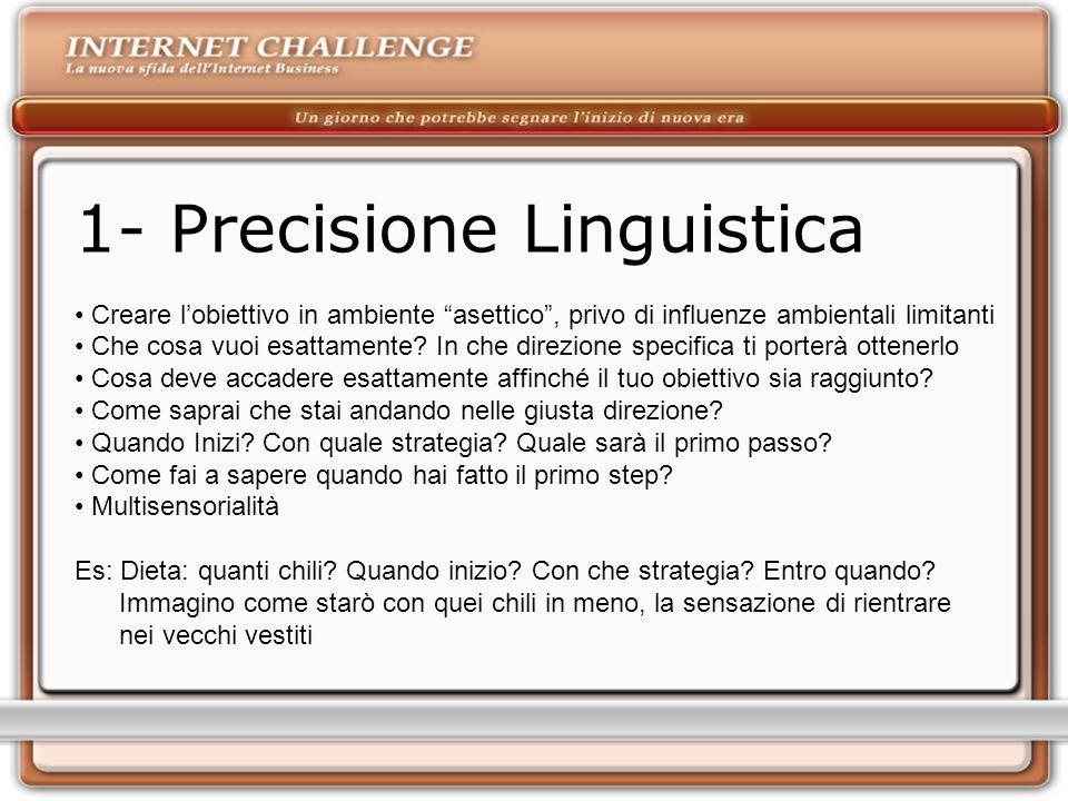 1- Precisione Linguistica
