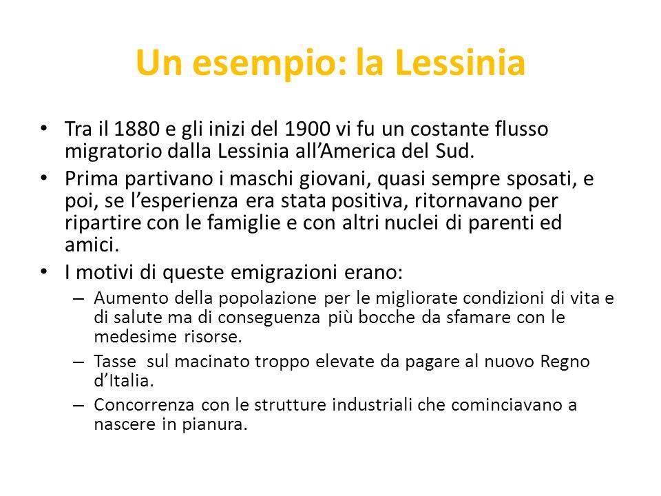 Un esempio: la Lessinia