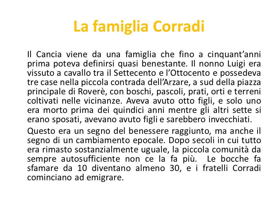 La famiglia Corradi