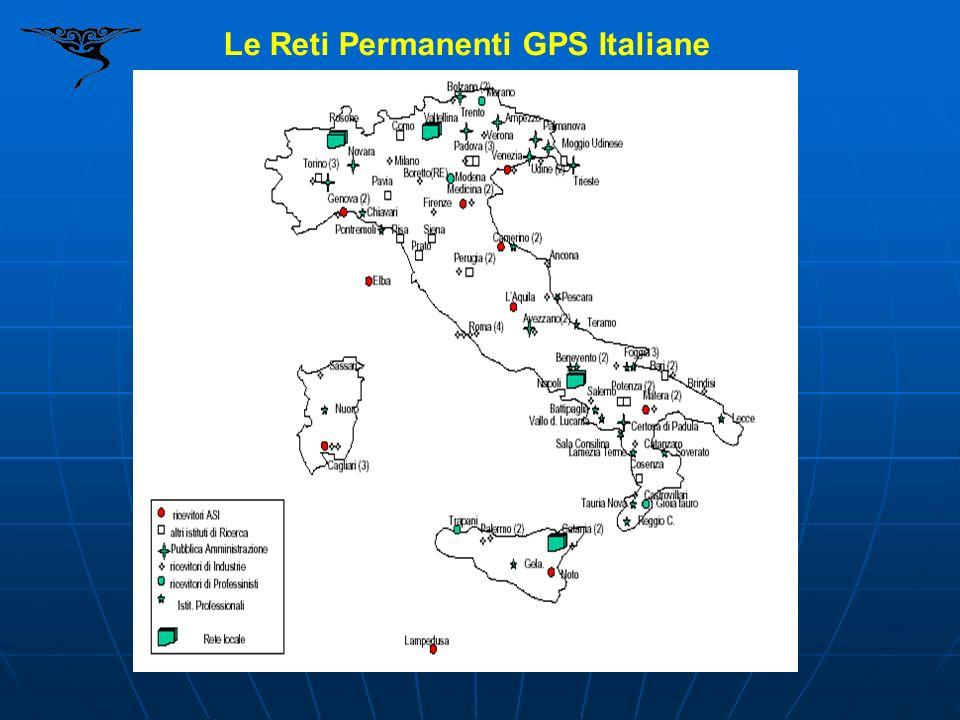 Le Reti Permanenti GPS Italiane